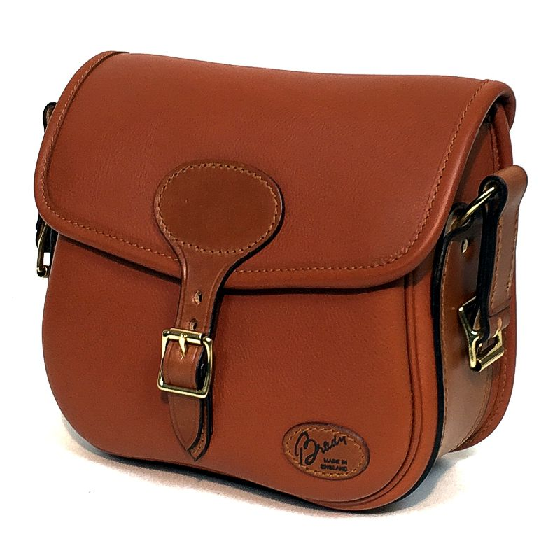 view 1 Brady Forest Quick Load Best Quality Leather Cartridge Bag.